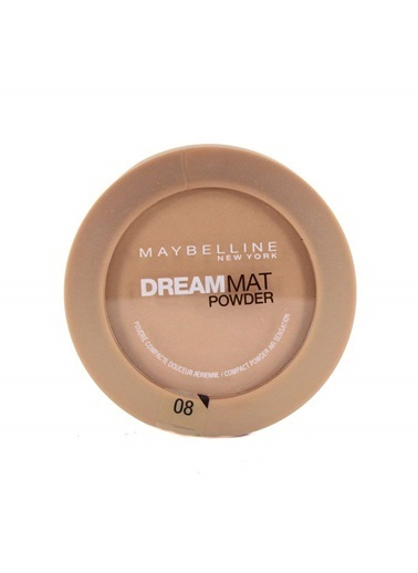 Maybelline Dream Mat Powder 08 Golden Sand Poudr. Renkli